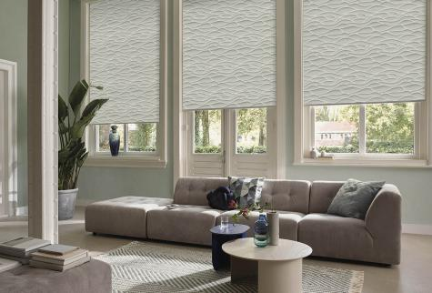 Cortinas Roller Shadesign Living Hunter Douglas